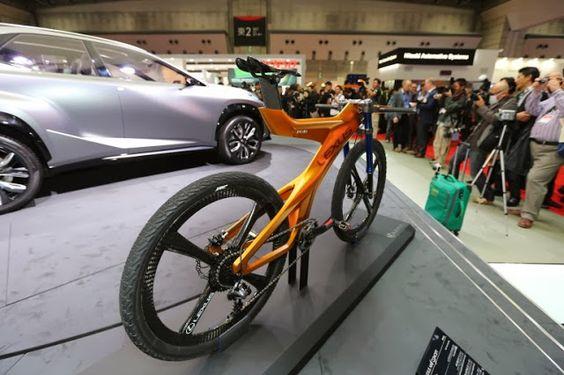 Nexus presenta su bicicleta de montaña NXB