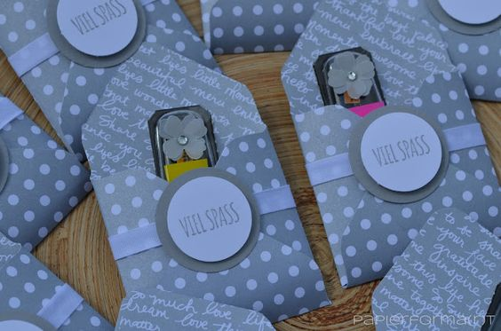 Verpackung für Mini-Post-its zur Katalog-Präsentation