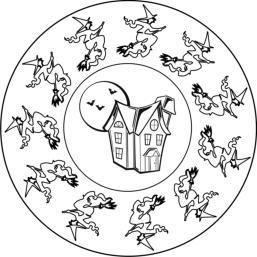 malvorlagen halloween hexen - ausmalbilder