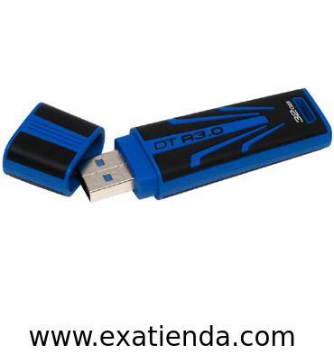 Ya disponible Memoria USB 3.0 Kingston 32gb r3.0   (por sólo 37.99 € IVA incluído):   -Capacidad: 32GB -Interface: USB 3.0 -Velocidad lectura: 70MB/s -Velocidad escritura: 30MB/s -Otros:-  -P/N:DTR30/32GB   Garantía de 24 meses.  http://www.exabyteinformatica.com/tienda/3132-memoria-usb-3-0-kingston-32gb-r3-0 #memoria #exabyteinformatica