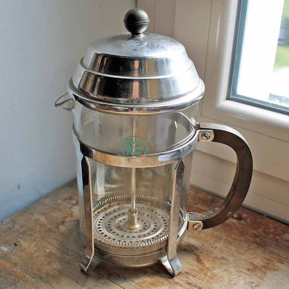 Coffee Maker Made In France : Vintage 1960 s french cafetiere Melior Pyrex coffee maker Coffee Percolator / Antique French ...