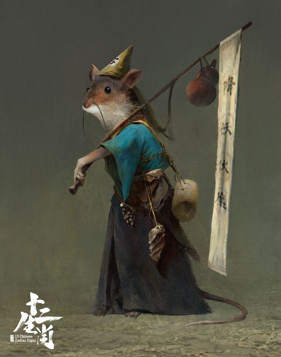 Tahun Baru Imlek 2020 - Pelajar shio tikus