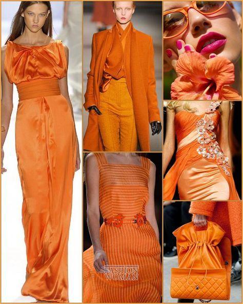 Fall-Winter 2019-2020 Panton Color: Orange Tiger // Модные цвета Пантон осень-зима 2019-2020: Orange Tiger