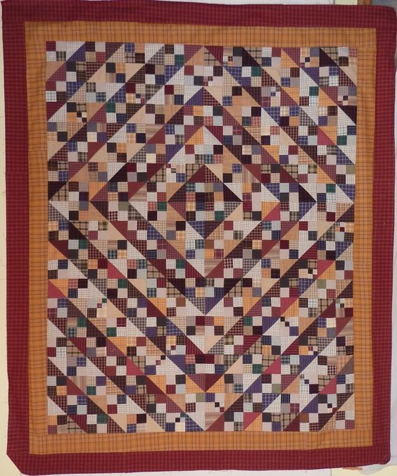 Kathy's Quilts: Design Wall Monday - Plaid Beauty