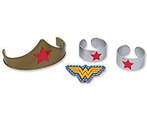 Wonder Woman Strength /& Power DecoPac 7222 Birthday Party Cake Topper