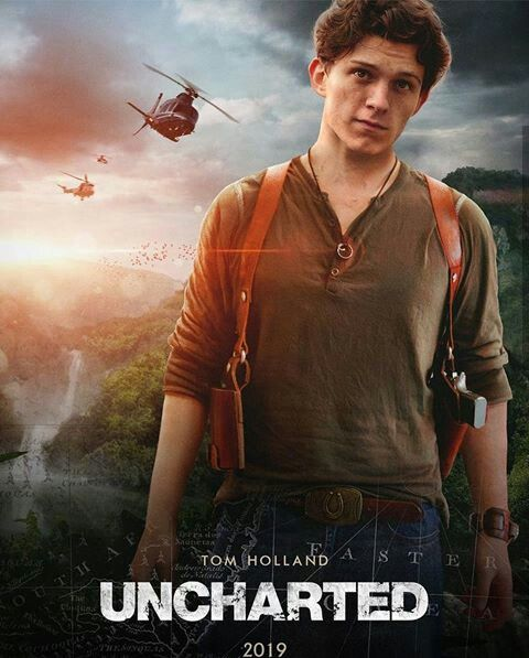 nathan drake uncharted tom holland