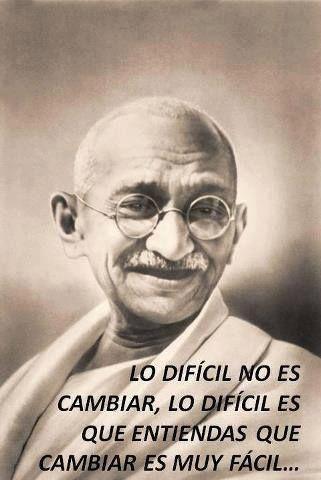 """Codicia... ✔ """"Hay suficiente en el mundo para cubrir las necesidades de todos los hombres, pero no para satisfacer su codicia"""" (Gandhi)"""