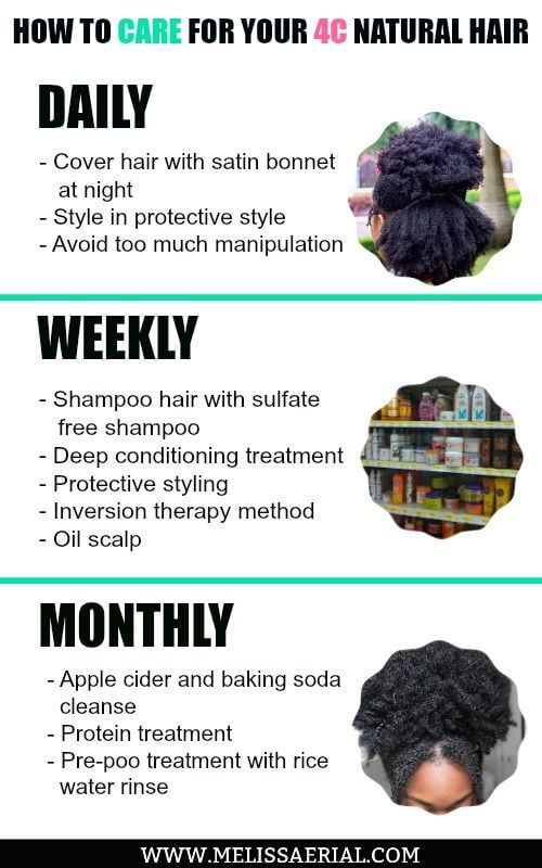 How To Care For Your 4c Natural Hair And Grow It Long Afro Hair