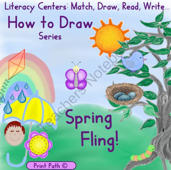 Pics for easy spring season drawing for Easy spring pictures to draw