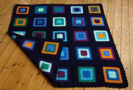 Crochet Blanket Crochet Afghan Blanket Crochet by Phoenixsmiles