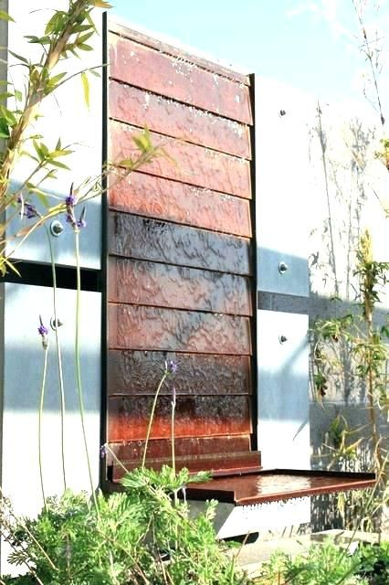 Contemporary Wall Fountains Water Fountain
