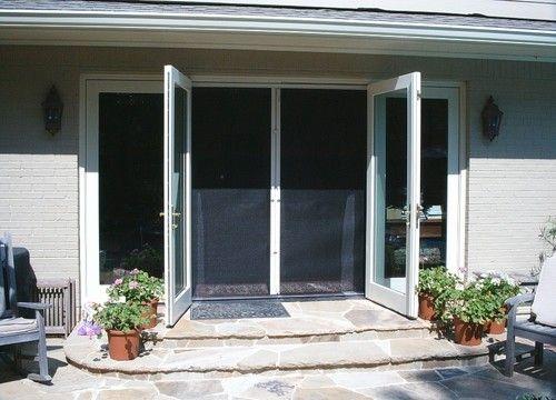 doors sliding glass door kitchens retractable screens screen doors