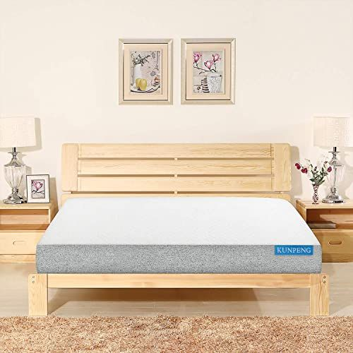 New Kunpeng Queen Mattress Gel Memory Foam Mattress Queen Size 10 Inch Bed Mattress Box Medium Firm Comfort Body Support Sleeps Cool Certipur Us 10 Year In 2020 Queen Size Memory Foam Mattress