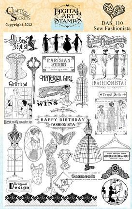 Pin Cushion /& Sewing Notions Unmounted Rubber Stamps Sew Sewing Seamstress
