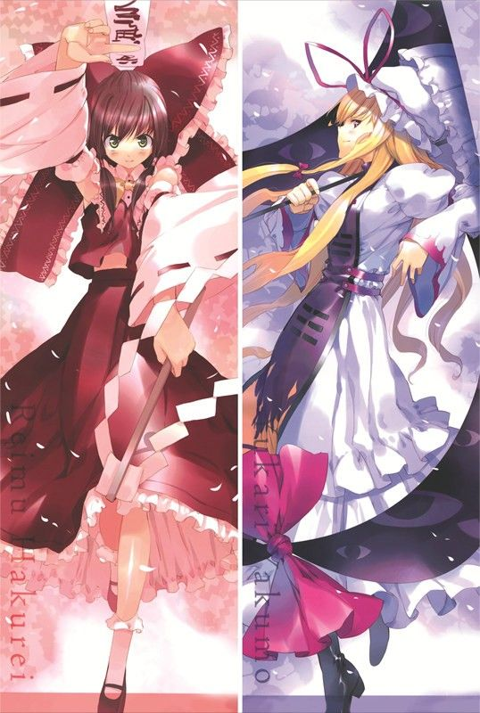Japan Anime Touhou Project Hakurei Reimu Dakimakura Hugging Body Pillow case Hot