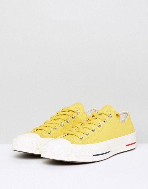 Converse   Zapatillas de deporte bajas en amarillo Chuck
