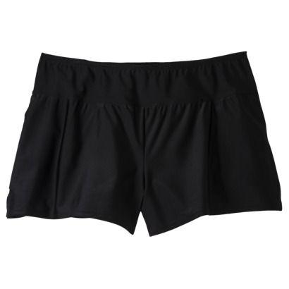 Merona® Women's Plus-Size Boyshort Swim Bottom - Black