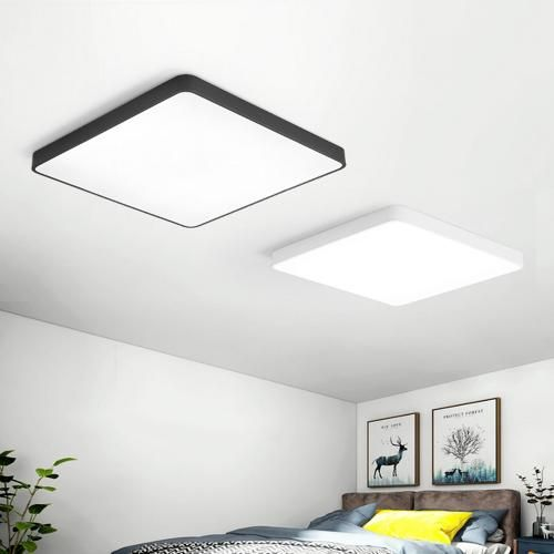 24w Square Led Ceiling Down White Light Panel Wall Bathroom Lamp