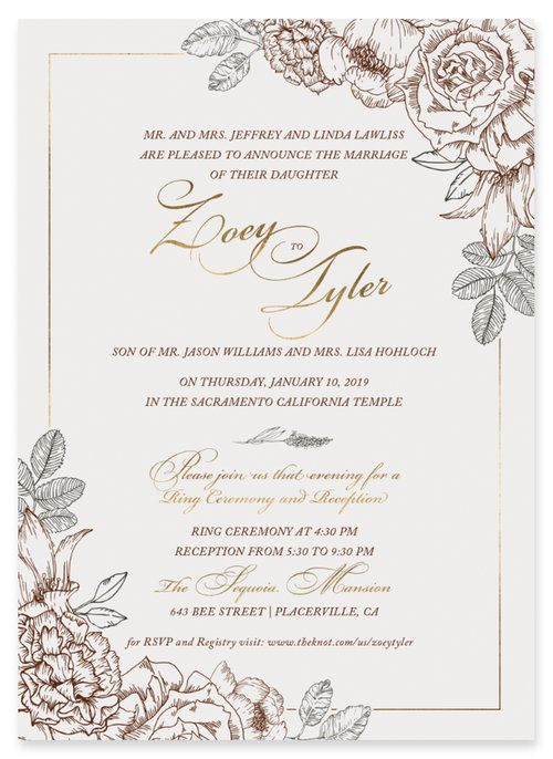 Anthology Print Online Custom Wedding Invitations40 Jpg Wedding Invitations Online Wedding Invitation Trends Wedding Day Invitations