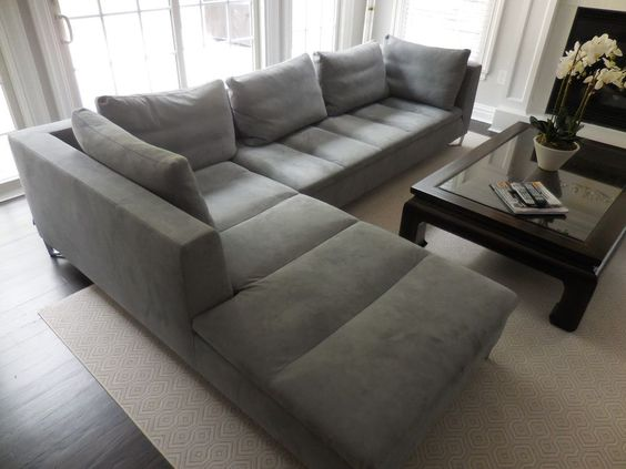 Ligne roset feng sofa by didier gomez like n e w!!!! 10\' long 7 ...