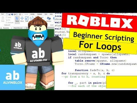 4 How To Script On Roblox For Beginners For Loops Episode