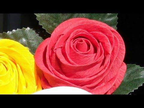 Origami rose (modular). Easy paper rose! Ideas for birthday party ... | 360x480
