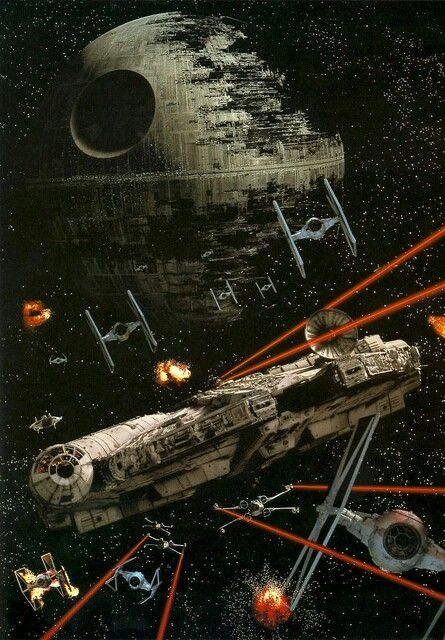 Battle of Endor #starwars: