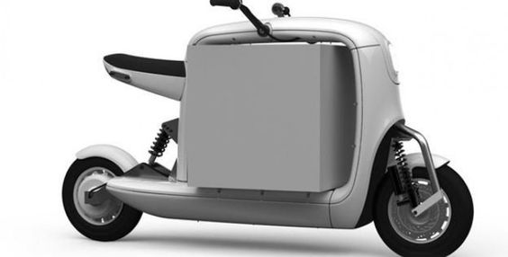 Electric scooter design that makes a hole lot of sense