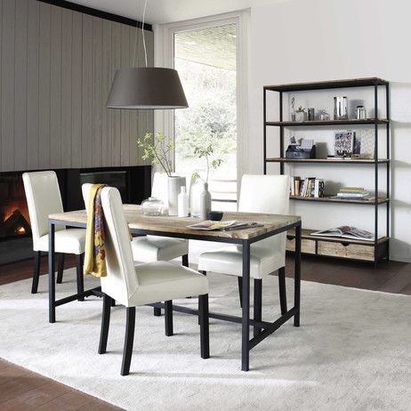 table a manger maison du monde. Black Bedroom Furniture Sets. Home Design Ideas