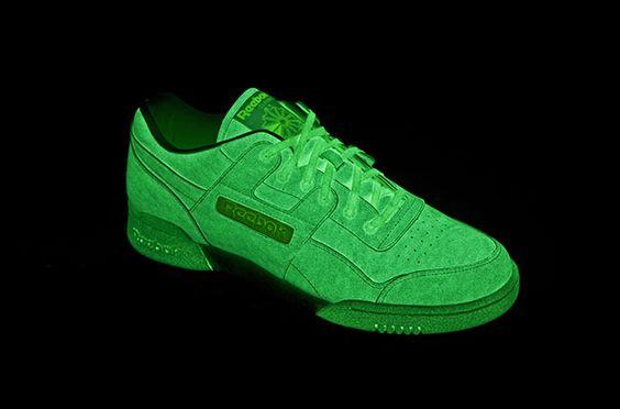 Glow in the dark sneakers