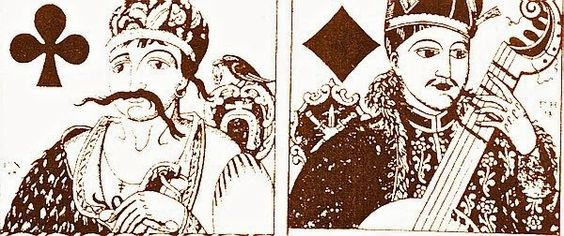 TICMUSart: Playing cards - Heorhiy Narbut (1917) (I.M.)