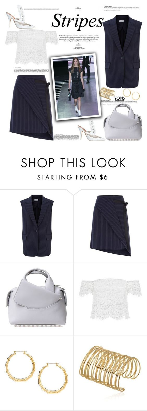 """""""Front lines with Yoins"""" by naki14 ❤ liked on Polyvore featuring DKNY, Alexander Wang, yoins, yoinscollection and loveyoins"""