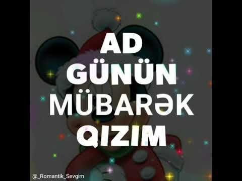 Qizim Ad Gunun Mubarek Ad Gunun Mubarek Canim Qizim Youtube Galaxy Wallpaper Calm Artwork Keep Calm Artwork