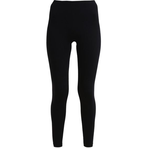 American Apparel Leggings ($32) ❤ liked on Polyvore featuring black, cotton jersey, american apparel jersey and american apparel