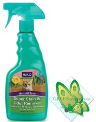 HOLISTICLEAN™ SUPER STAIN AND ODOR REMOVER CAT FORMULA (16 OZ)    $9.99