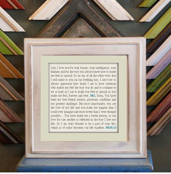 Wedding / Anniversary Gift  Wall Art  by EnticingElements on Etsy, $15.00
