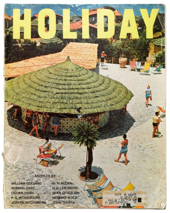 Holiday Magazine Cover - August 1967
