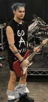 Mikey in rehearsal // I literally want to marry him. Ugh he's so friggen cute like what <<< same here