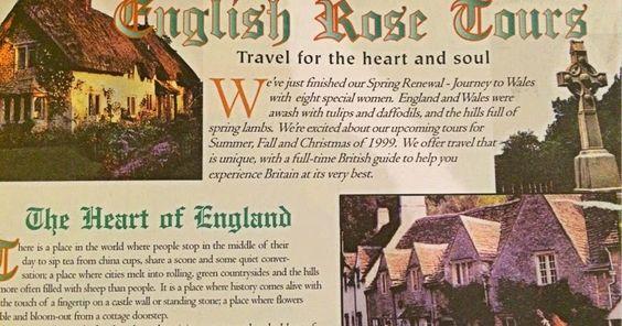 FAWLTY SPIRES: English Rose Tours Reborn