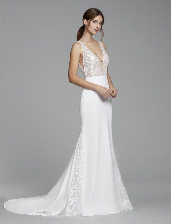 Style 2853 Monica Tara Keely Bridal Gown Diamond White Crepe