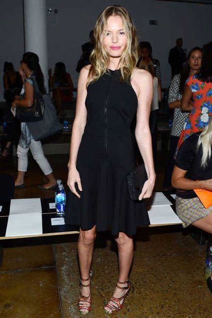 Kate Bosworth front row at Cushnie et Ochs #NYFW