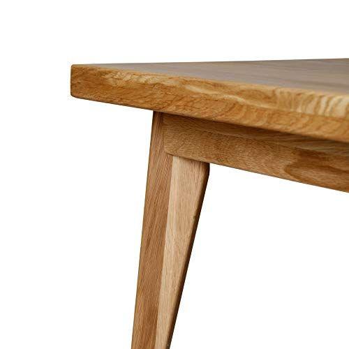 Krokwood Hans Solid Wood Dining Table 75 X 50 X 75 Cm Oak Fsc100 Handmade Kitchen 4 Seater T Hardwood Table Solid Wood Dining Table Dining Table