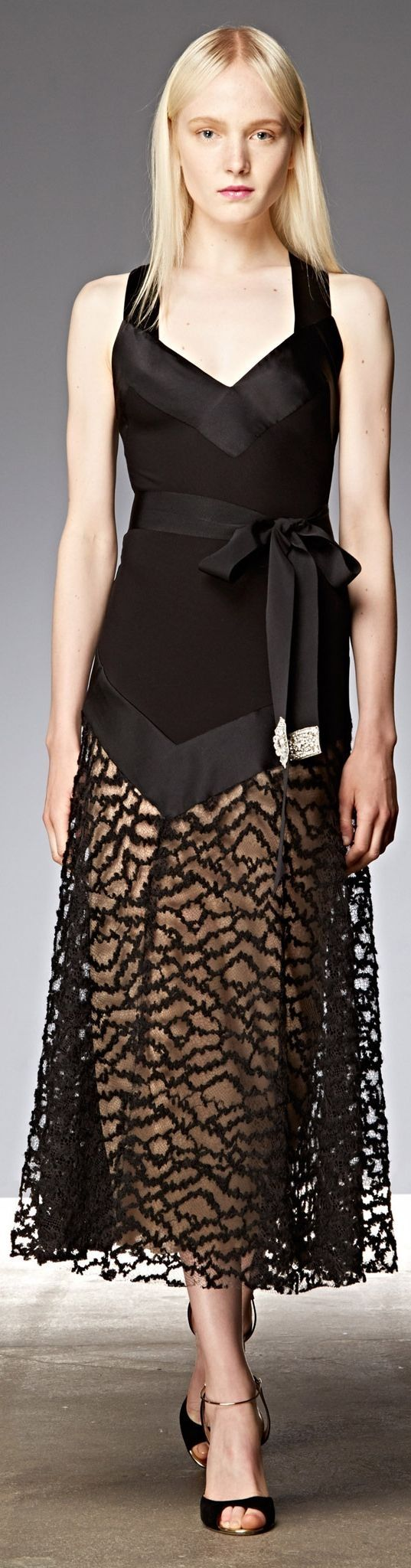 Dress The Best! Designer Dresses Fashion Trends Donna Karan Resort 2015