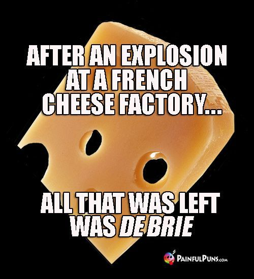 I Walked Up To The Cheese Counter In The Store Last Week I Interrupted Him And He Had To Start Again Cheesy Jokes Cheese Jokes French Puns