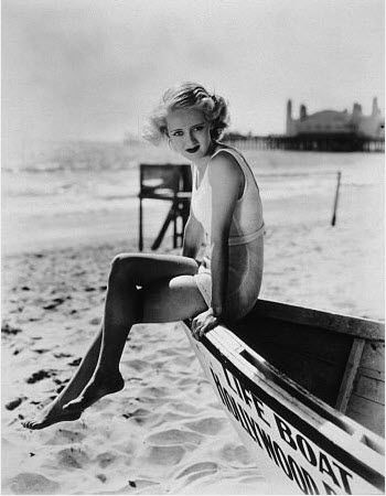 bette davis's bob.  she'd worked as a life-gaurd before hollywood