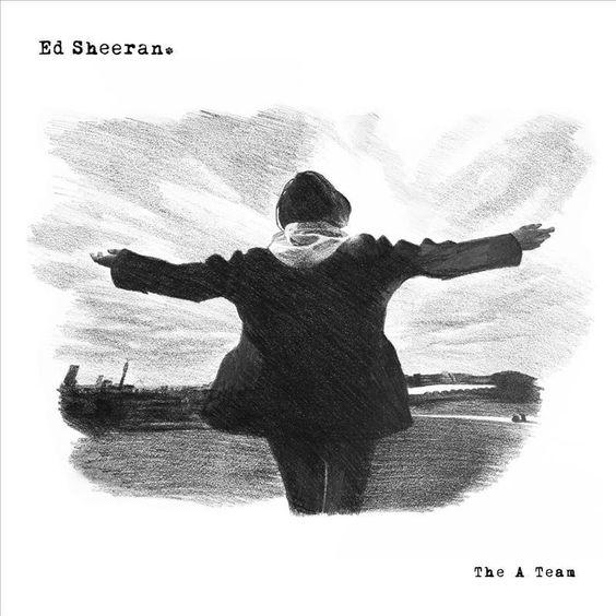 Ed Sheeran – The A Team (single cover art)