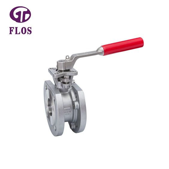 The Ball Inside Valve Body Can Be Turned By Valve Stem Under The