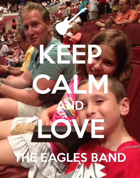 If you don't know who the eagles band is then your crazy