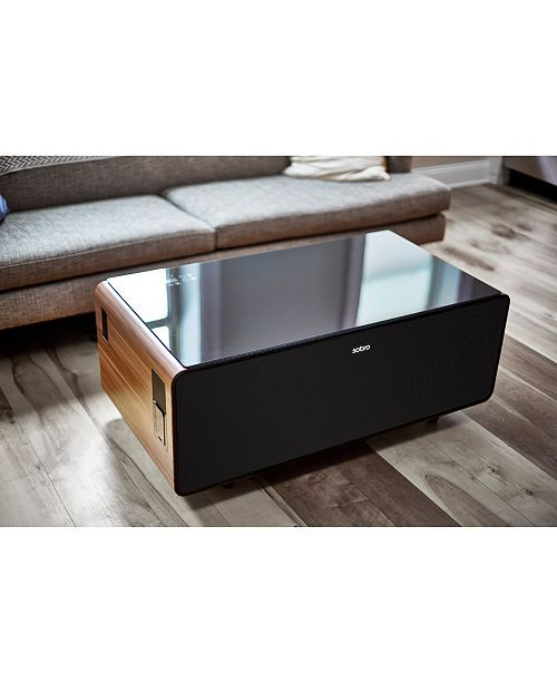 Sobro Smart Storage Coffee Table With Refrigerated Drawer Reviews Furniture Macy S Coffee Table With Storage Coffee Table Storage Furniture Bedroom