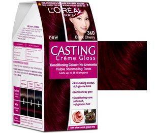 casting creme gloss hair color black cherry by loreal paris india httpwww - L Oral Gloss Color